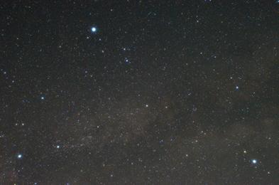夏の星空 イメージ写真