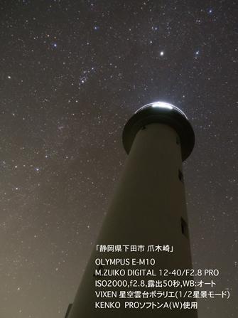 <カメラのキタムラ×ビクセン×オリンパス> 「星景写真セミナー」に協力