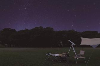 「ふもとっぱらでそとあそび2015」に協力~星空観察会などを実施~