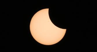 <ビックカメラ池袋東口カメラ館> 部分日食直前イベント「部分日食に備えよう!」に協力