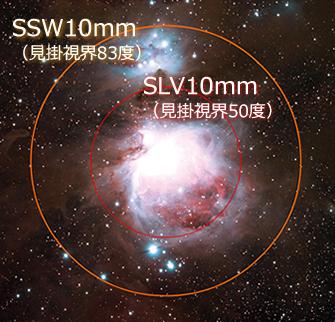 臨場感あふれる視野で宇宙を感じる 超広視界接眼レンズ誕生 「SSW」シリーズ8月6日発売