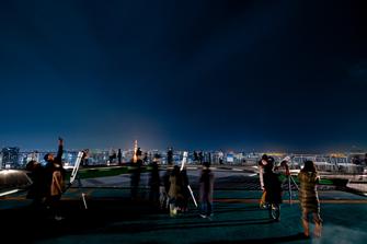 4月15日、六本木ヒルズ「スカイデッキ」から月食をライブ配信
