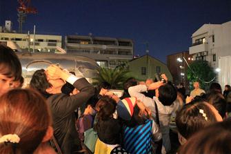 東京、青山で星を見よう!246COMMON「星空をたのしむ会」に協力