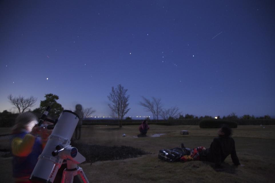 カメラを学び、星空を楽しむ「星空みあげ隊」ワークショップに協力