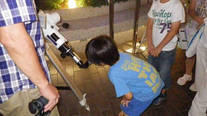 たまプラーザテラスで4日間限定開催 ビアガーデンでの天体観測会に協力