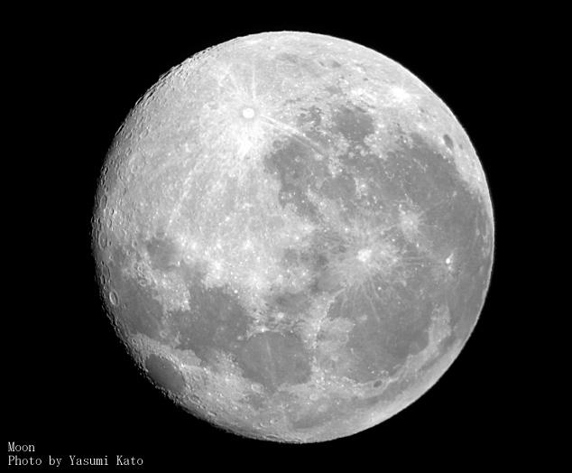 当日見られる月(月例16)撮影:加藤保美