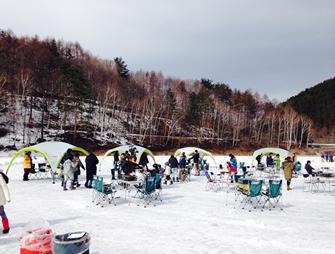 「第3回BBQ on ICE@MINAMIAIKI」に機材協力・プレゼント協賛