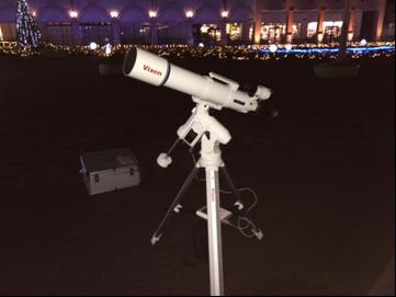 那須ガーデンアウトレットで「手作り望遠鏡教室&天体観測会」を実施
