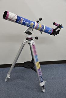 世界で一台、「放課後のプレアデス」モデル天体望遠鏡 新宿マルイアネックスで期間限定展示