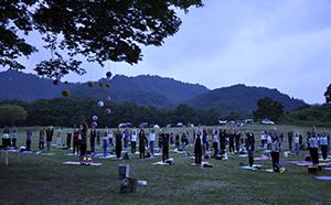 2018年9月1日(土)に福島県の美坂高原で開催される<br>癒し効果抜群のイベント「星空とヨガ」に協力