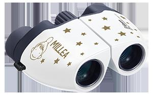 星にまつわる楽曲を数多くリリースしているヴォーカリストMILLEAさんとコラボした双眼鏡を発売
