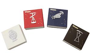 天体望遠鏡や流れ星などをモチーフにした、ステンレス製のデザインクリップ 『エッチングクリップス』を2019年7月5日(金)に発売