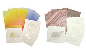 柄の一部が透けて見える特殊な加工を施した 『透かし封筒のレターセット』を2019年6月21日(金)に発売