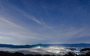 2019年8月12日に秩父の美の山公園で開催される 『ペルセウス座流星群観賞・秩父美の山オールナイト絶景ツアー』に協力