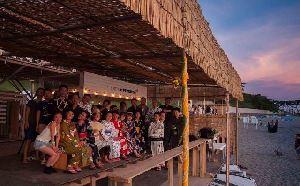 """今年も葉山の海辺で、浴衣姿で、""""スターパーティ""""  7月13日(土)、 『ゆかた星見会2019~ビクセン×UMIGOYA×カラフルカフェ』開催"""