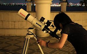 【ビクセン×宇宙ミュージアムTeNQ(テンキュー)】 2019年10月12日(土)開催 天体観望会『十三夜・後の名月 前後の月を見てみよう』に協力