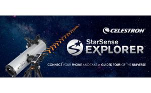 アプリで星を探せる天体望遠鏡「StarSense Explorerシリーズ」初心者も簡単に天体観測を始められる使い方動画を公開