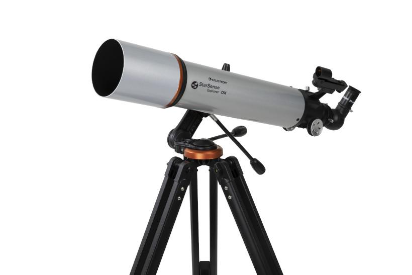 大口径10㎝の屈折望遠鏡