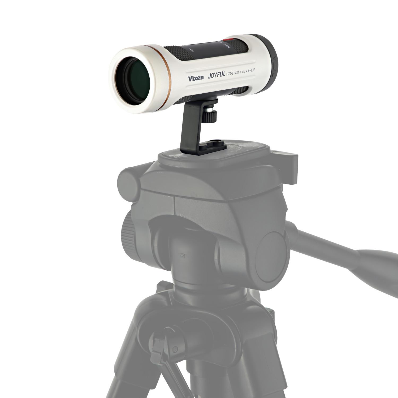 Vixen 単眼鏡 ジョイフルモノキュラーHZ7-21×21(PW)