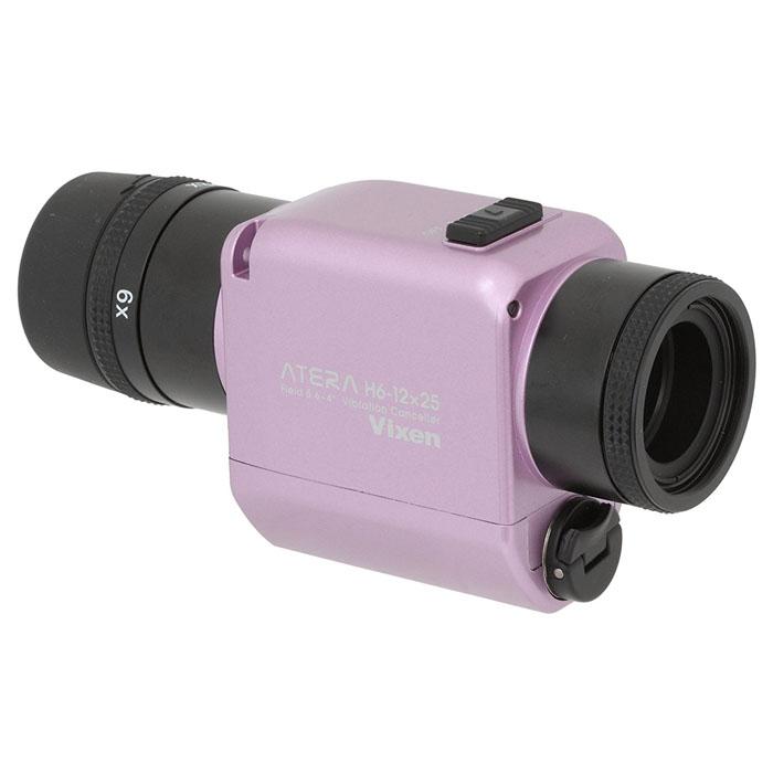 Vixen 防振単眼鏡 ATERA H6-12×25 ピンク