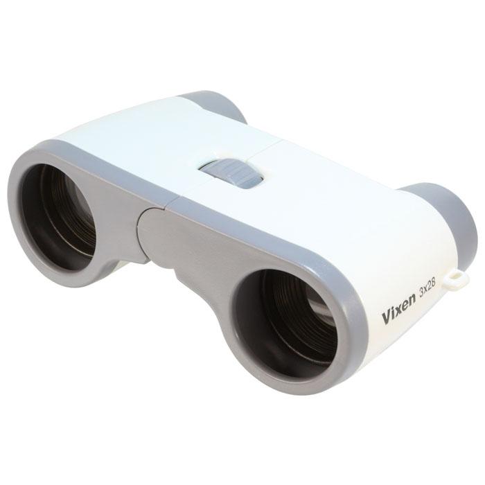 Vixen 双眼鏡 コンパクトオペラ3×28 ホワイト