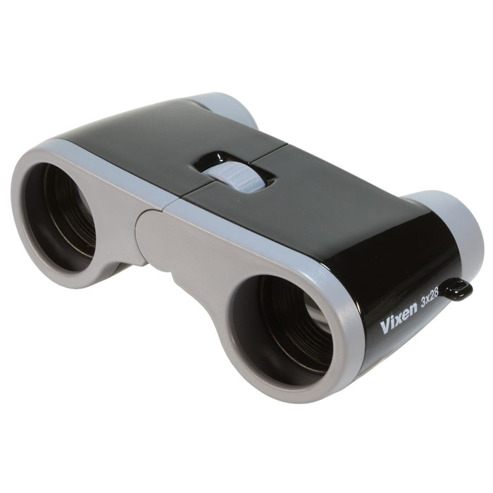 Vixen 双眼鏡 コンパクトオペラ3×28 ブラック