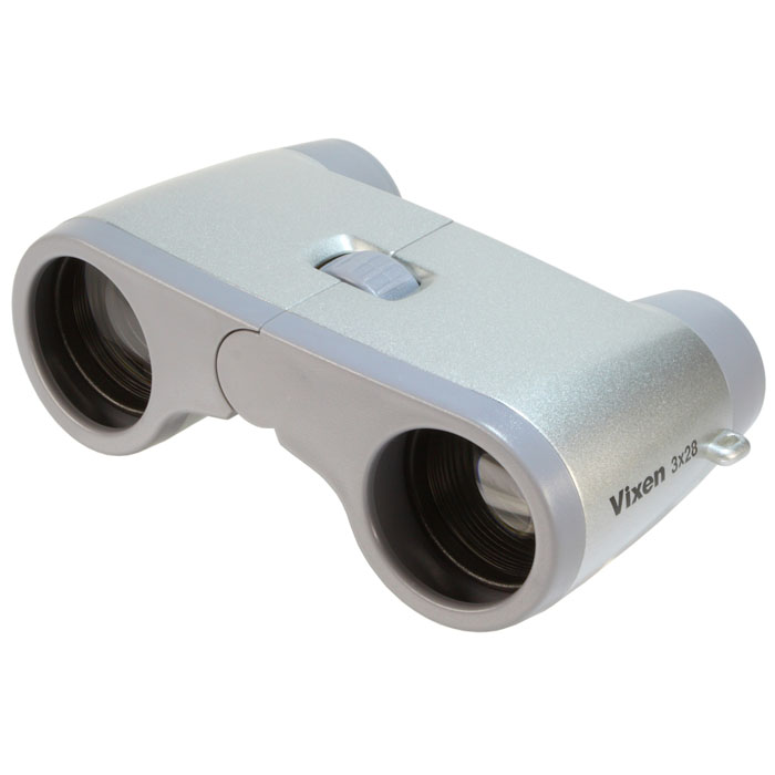 Vixen 双眼鏡 コンパクトオペラ3×28 シルバー