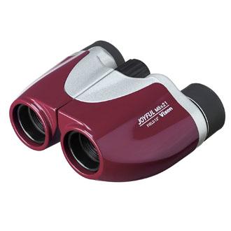 Vixen 双眼鏡 ジョイフル M8×21 ボルドーレッド