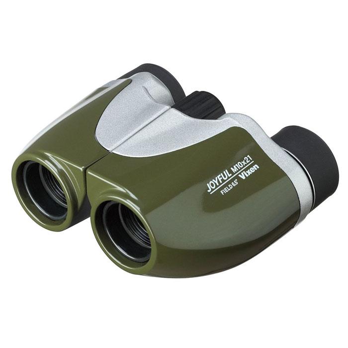 Vixen 双眼鏡 ジョイフル M10×21 オリーブグリーン —