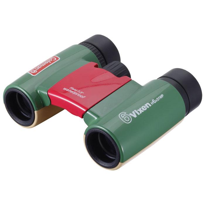Vixen 双眼鏡 コールマンH6X21WP(フォレスト) —