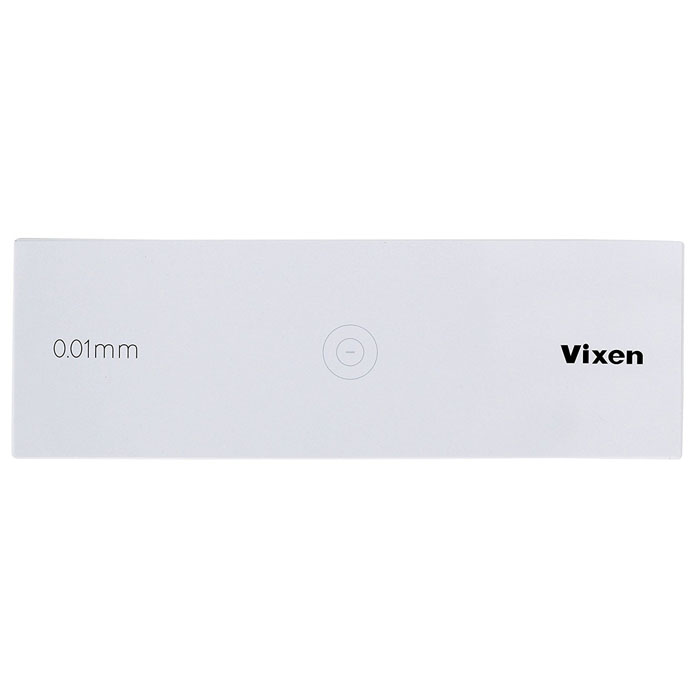 Vixen 顕微鏡 対物ミクロメーター —