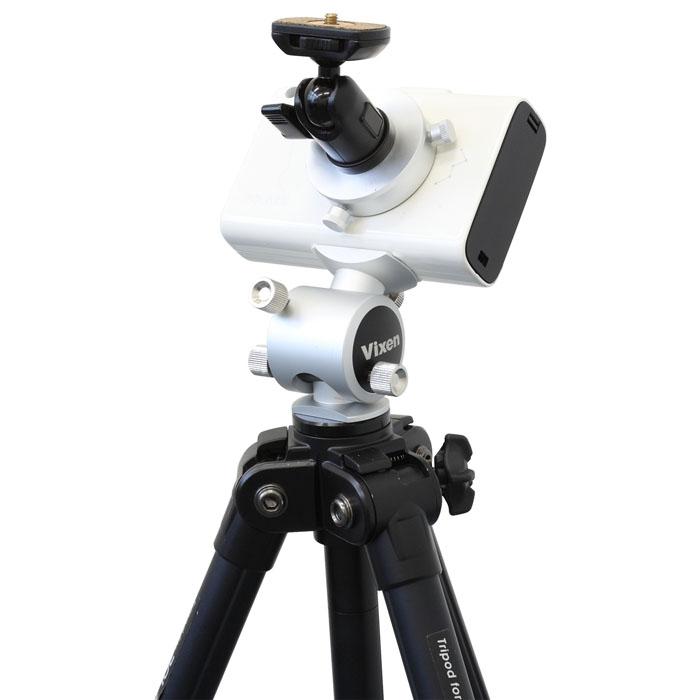 Vixen ポータブル赤道儀 星空雲台ポラリエ(WT)155三脚セット —