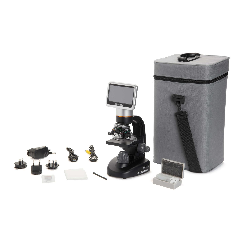 CELESTRON 顕微鏡 TetraView LCD デジタル顕微鏡