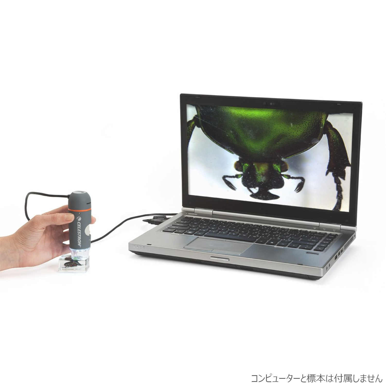 CELESTRON 顕微鏡 デジタル顕微鏡 ハンディ PRO