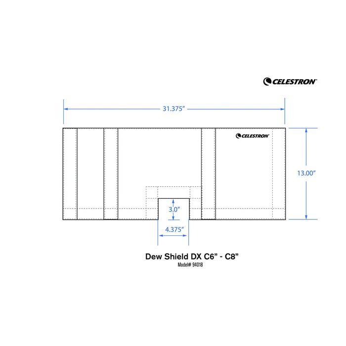 CELESTRON オプションパーツ 対物フードDX C6/C8用