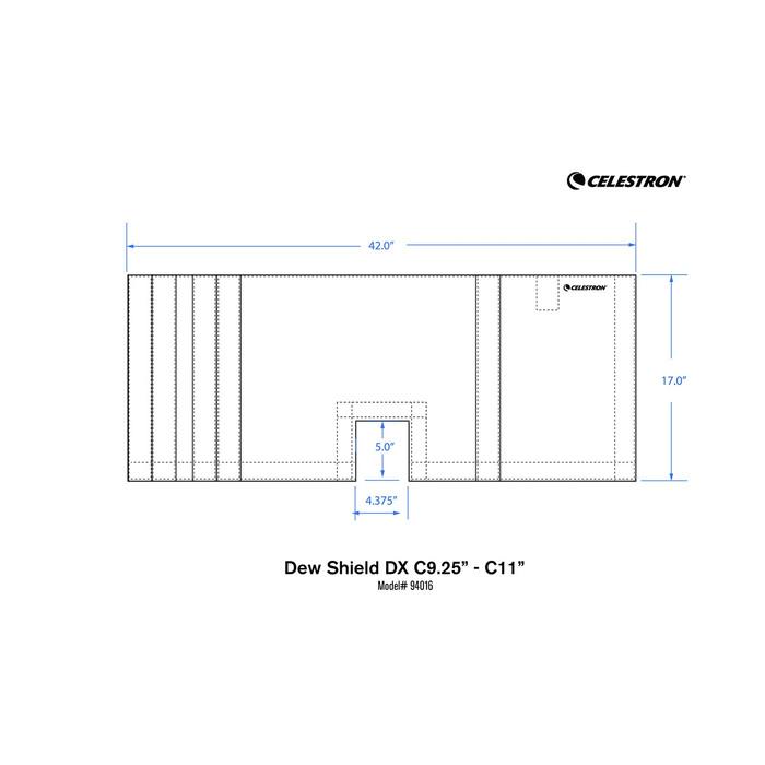 CELESTRON オプションパーツ 対物フードDX C9.25/C11用