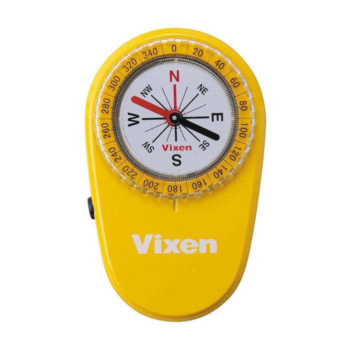 Vixen オイル式コンパス LEDコンパス イエロー