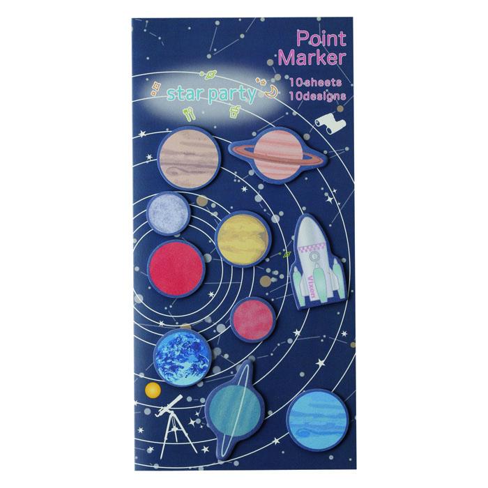 Vixen ステーショナリー ポイントマーカー 太陽系 —