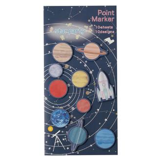 Vixen ステーショナリー ポイントマーカー 太陽系