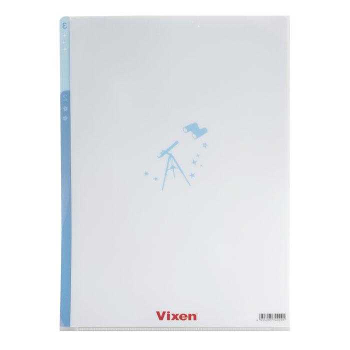 Vixen ステーショナリー 3Pクリアフォルダー A4 星座柄