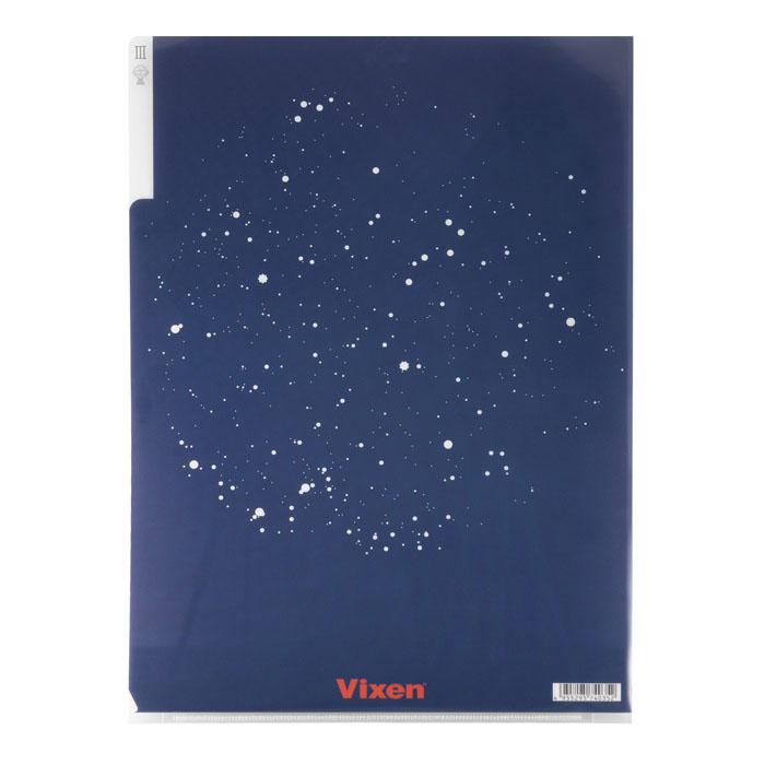 Vixen ステーショナリー 3Pクリアフォルダー A4 天文学者の部屋柄