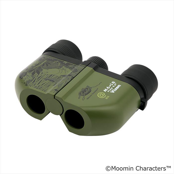 Vixen 双眼鏡 MOOMIN at6 M6×18 —